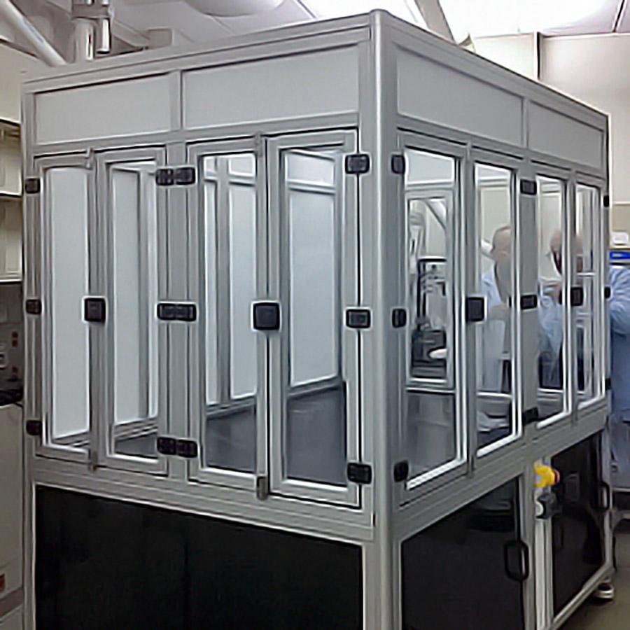 Negative Pressure Enclosure