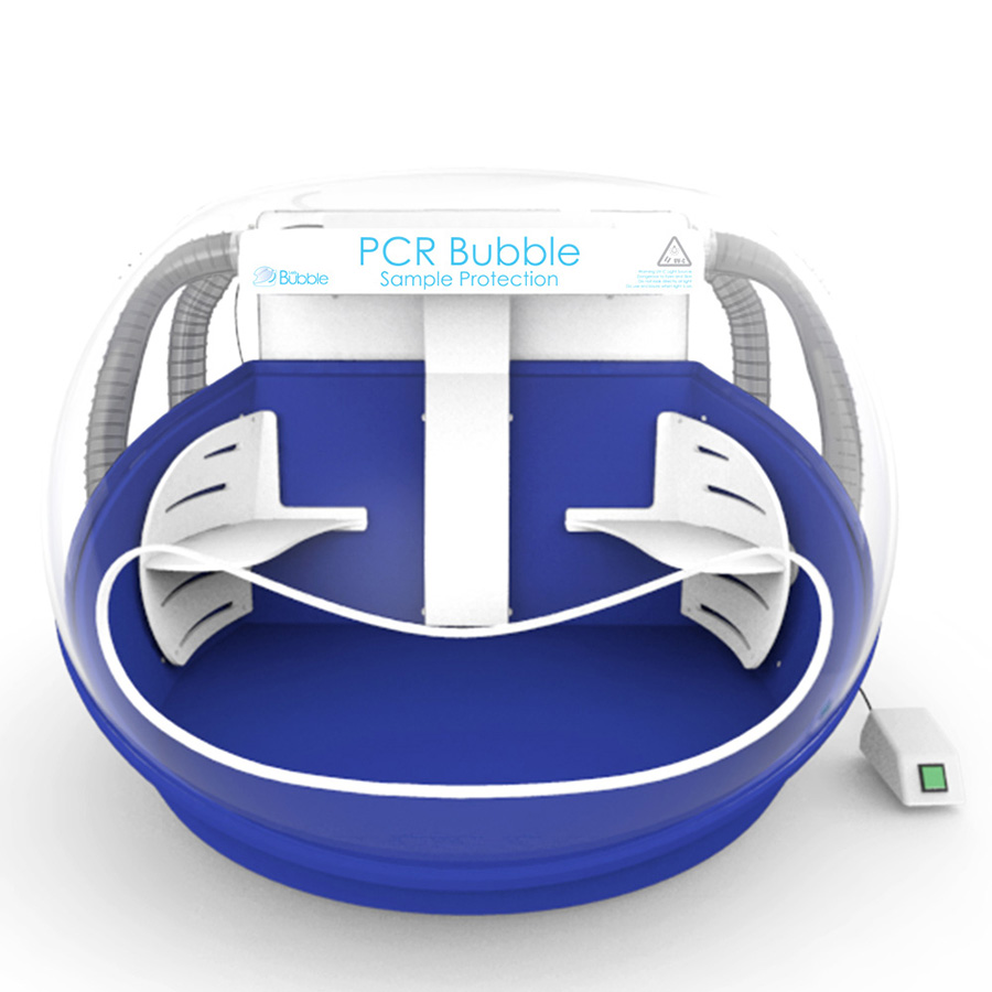 PCR Clean Air Bubble - HEPA Filtered