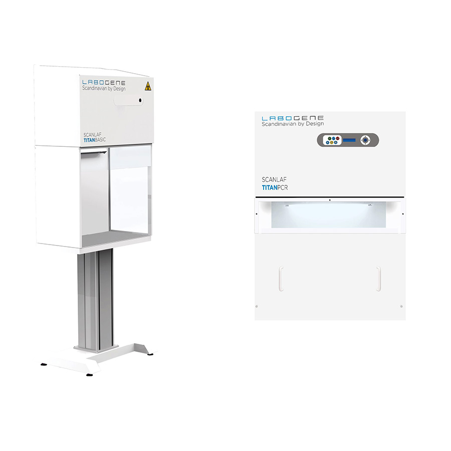 ScanLaf Titan / Titan PCR HEPA Filtred Compact PCR Sterile Cabinet