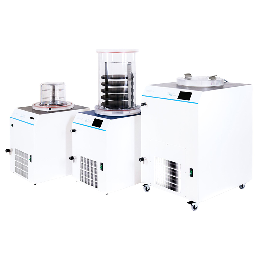 ScanVac CoolSafe 4-15L Laboratory Bench-Top Freeze Dryer